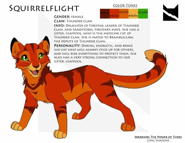 fiche d'identitée : Squirrelflight