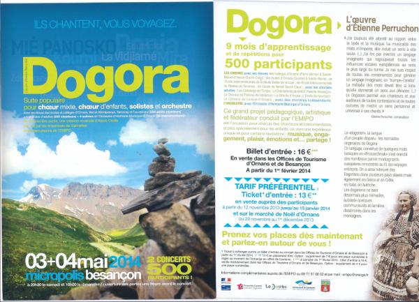dogora concert micropolis