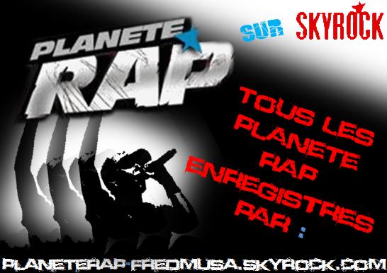 Planète Rap sur Skyrock