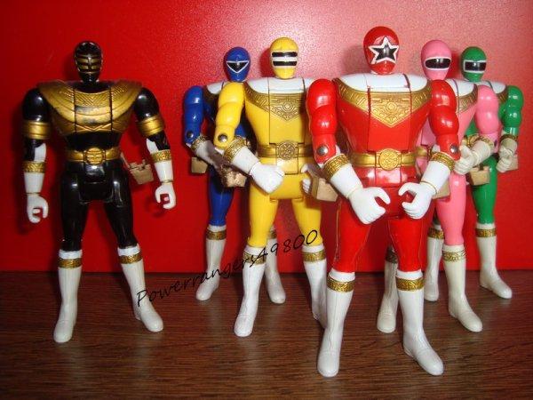 Figurine Auto-Morphin PRZ (Power Rangers Zéo)