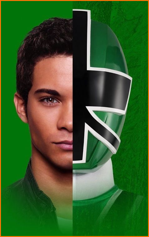 Power Rangers Samurai Mike le Ranger Vert / Hector David Jr
