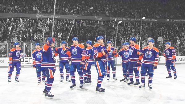 Edmonton Oilers, that's one of the few teams who play hockey. Hockey is a fun game. It's creativity, puck possession and making plays.