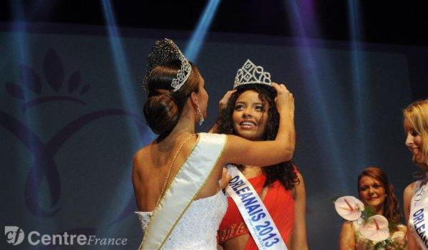 Election Miss Orléanais 2013 : victoire de Flora Coquerel