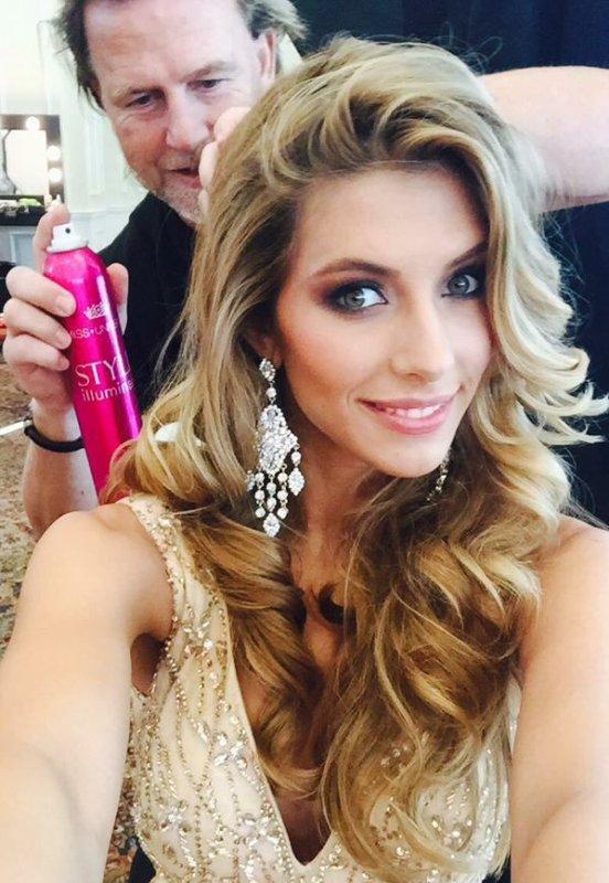 Camille à Miami pour Miss Univers