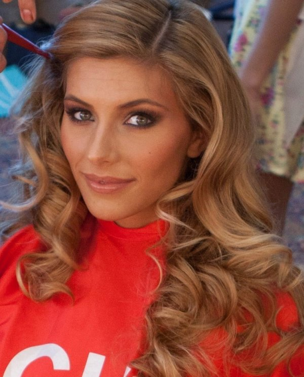 Camille à Miss Univers
