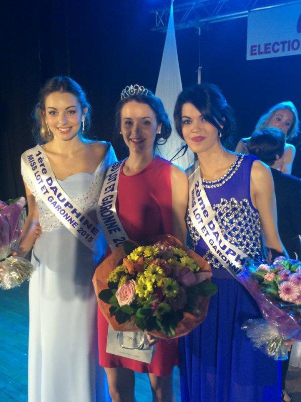 Miss Lot et Garonne 2015 est Eléonore Poilvert
