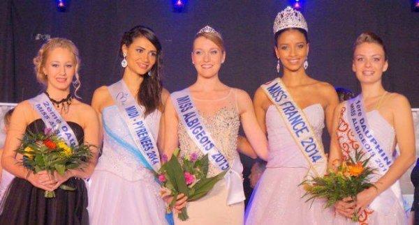 Miss Pays d'Albigeois 2015 est Anaïs Vidal