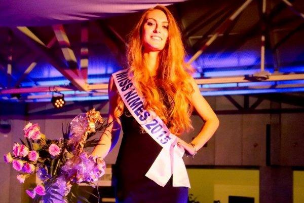 Miss Nîmes 2015 est Alizée Rieu