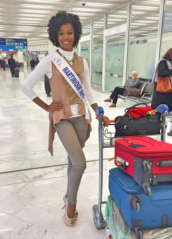 Départs - Miss France 2016