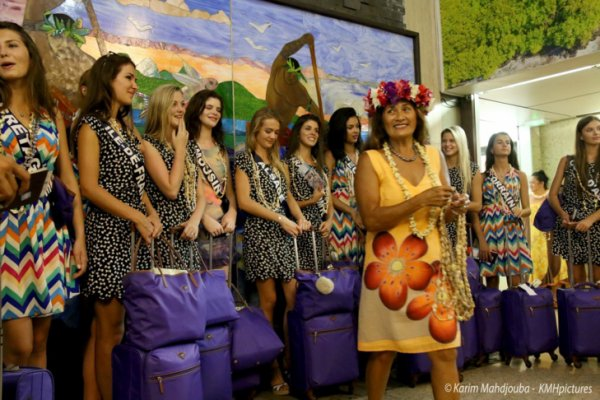 départ de Tahiti