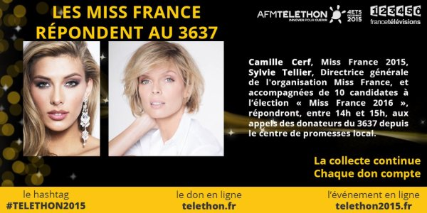 Aventure Miss France - Téléthon