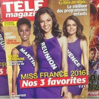 Les Miss en couverture des magazines