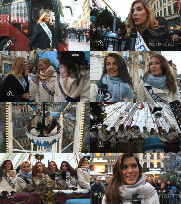 J-5 : Premier test de popularité pour les Miss à Lille