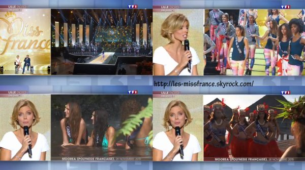 Election Miss France 2016 - JT 13h