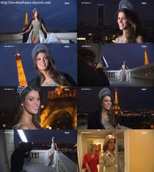adef2b6fd42e Dans la nouvelle vie de Miss France 2016, Iris Mittenaere - sept à huit ...