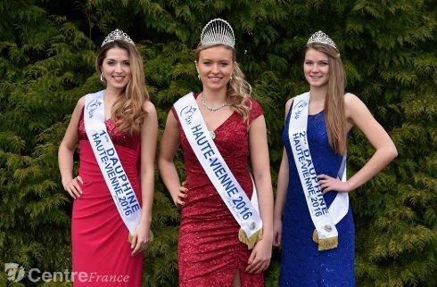 Miss Haute-Vienne 2016 est Romane Komar