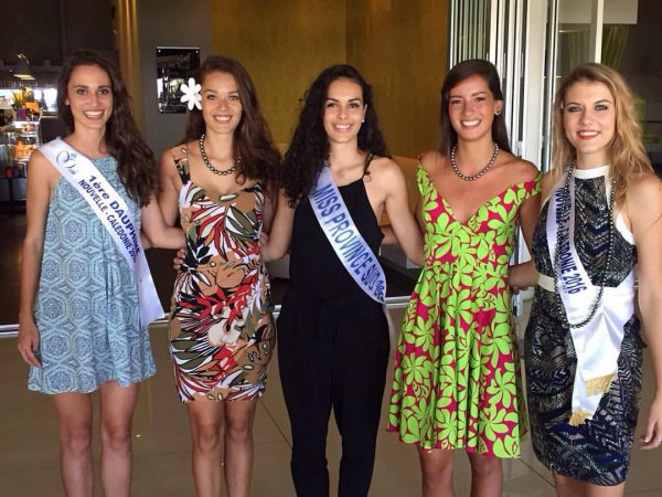 Andréa Lux, Miss Nouvelle Calédonie & Vaea Ferrand, Miss Tahiti