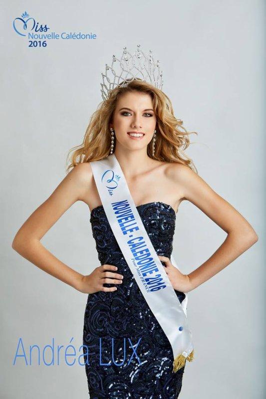 Miss Nouvelle-Calédonie 2016 - Andréa Lux