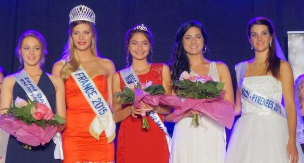 Miss Pays de l'Albigeois 2016 est Laura Pons