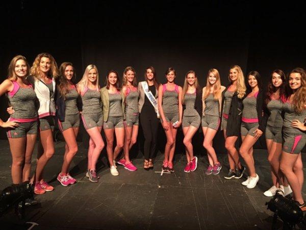 Candidates Miss Midi-Pyrénées 2016
