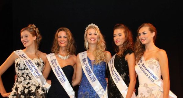 Miss Midi-Pyrénées 2016 est Virginie Guillin