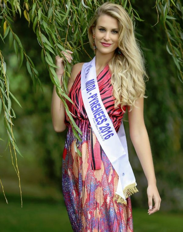 Interview - Virginie Guillin, Miss Midi-Pyrénées 2016