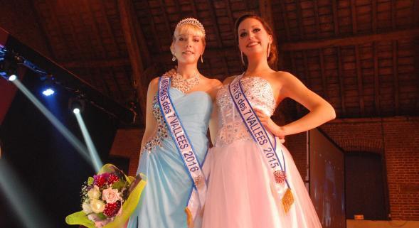 Miss Pays des 7 Vallées 2016 est Kim Defachelles