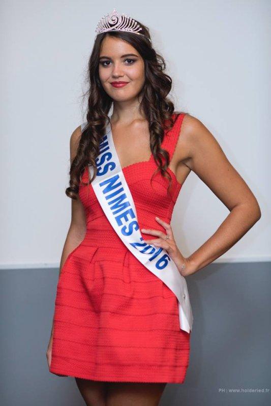 Miss Nîmes 2016 est Sophie Molina