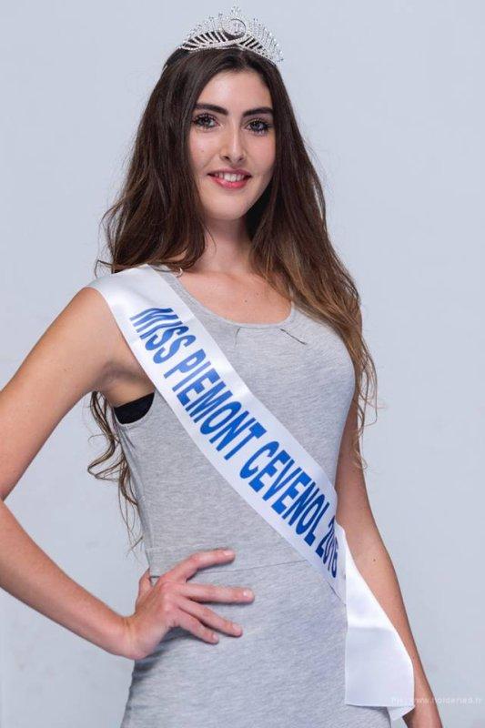 Miss Piémont Cévenol 2016 est Jeanne