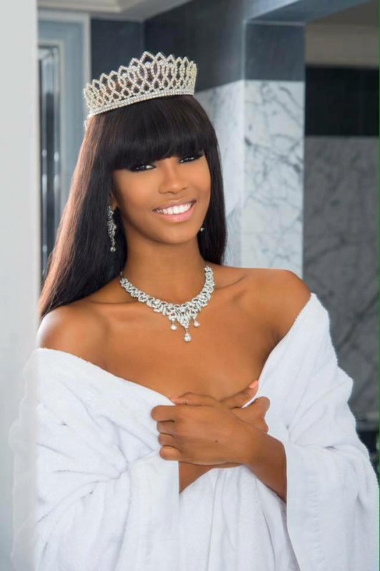 Morgane Edvige - Miss Monde