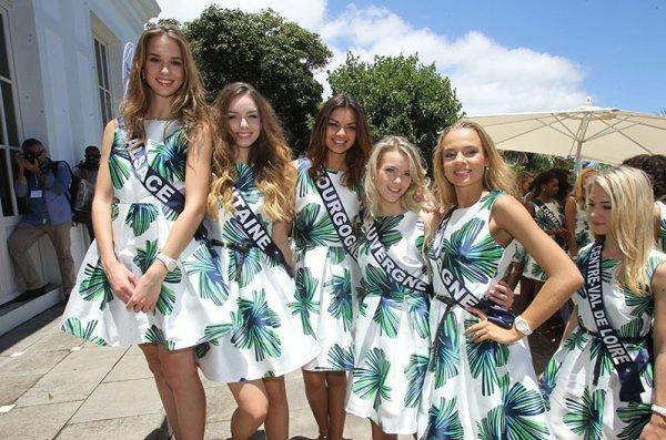 Les 30 candidates sont arrivées à la Réunion !