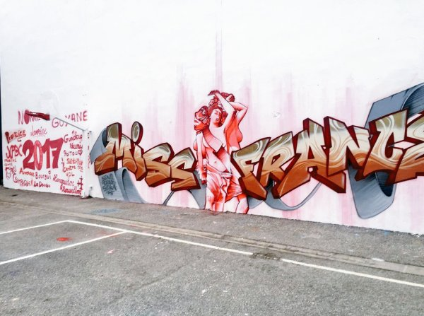 Candidates Miss France 2017 - Street Art