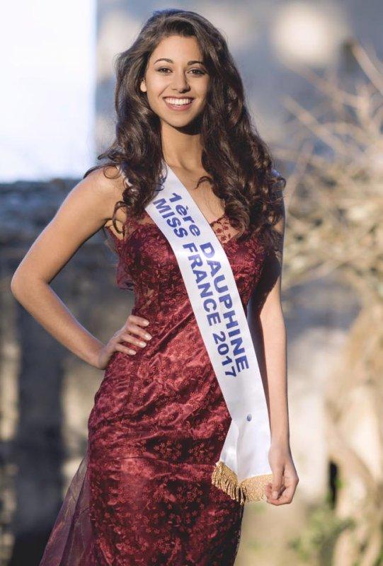 Aurore Kichenin, 1ère dauphine de Miss France 2017