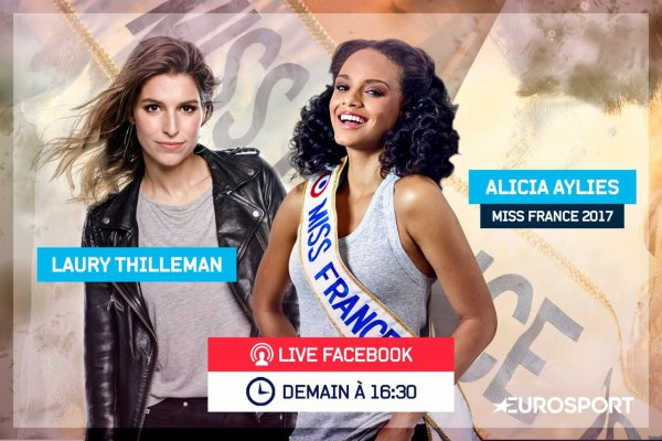 Alicia Aylies & Laury Thilleman - facebook live