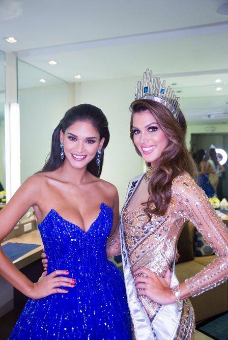 Iris Mittenaere & Pia - Miss Univers