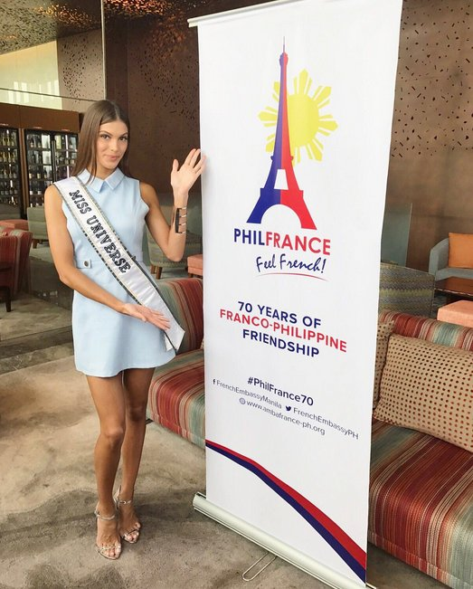 Iris Mittenaere - 70 years of Franco-Philippine friendship