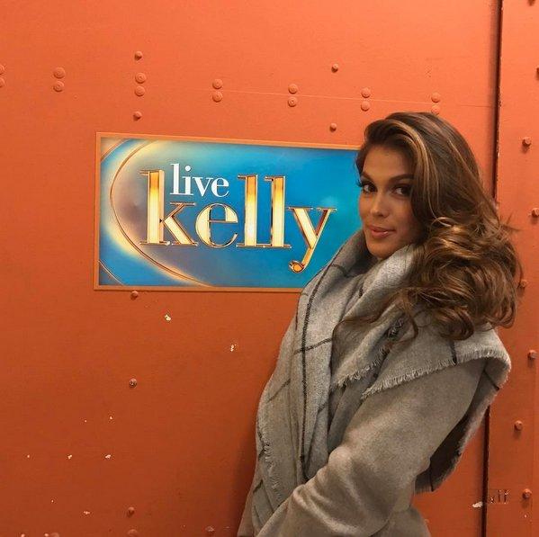 Iris Mittenaere - Live Kelly
