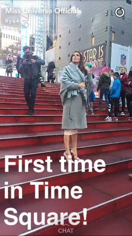 Iris Mittenaere - tournée médiatique
