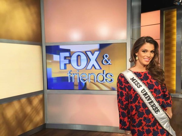Iris Mittenaere - Fox & Friends
