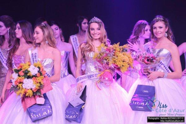 Miss Mimosa Mandelieu la Napoule 2017 est Victoria Deydier