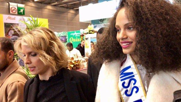 Alicia Aylies & Sylvie Tellier - Salon de l'Agriculture