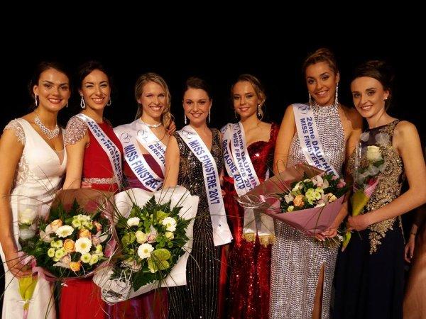 Miss Finistère 2017 est Roxane Coïc