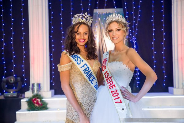 Alicia Aylies & Aurore Kichenin - Election Miss Isère 2017