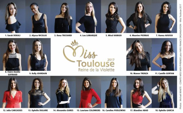 Election Miss Toulouse 2017