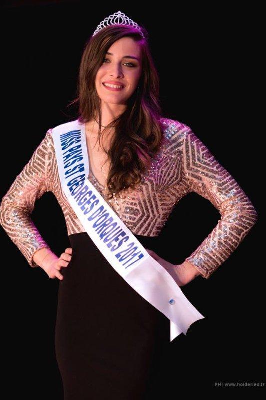 Miss Pays de Saint Georges 2017 est Léa Tagliante-Saracino