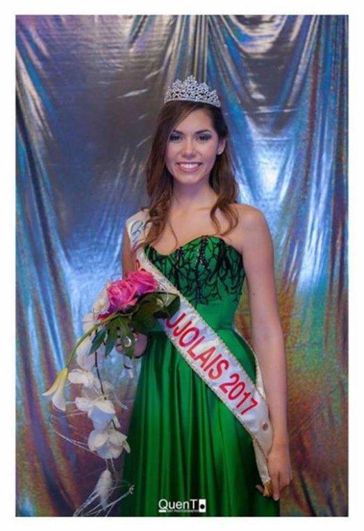 Miss Beaujolais 2017 est Marine Pipitone