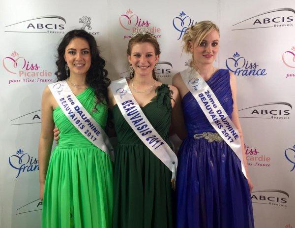 Miss Beauvaisis 2017 est Julie Ibert