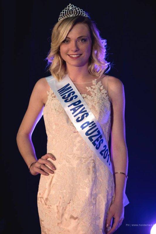 Miss Pays d'Uzès 2017 est Pauline Guiheneuf
