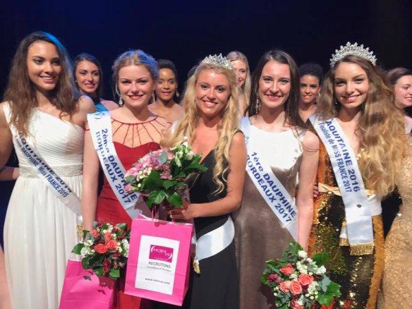 Miss Bordeaux 2017 est Oceane L'Hoste
