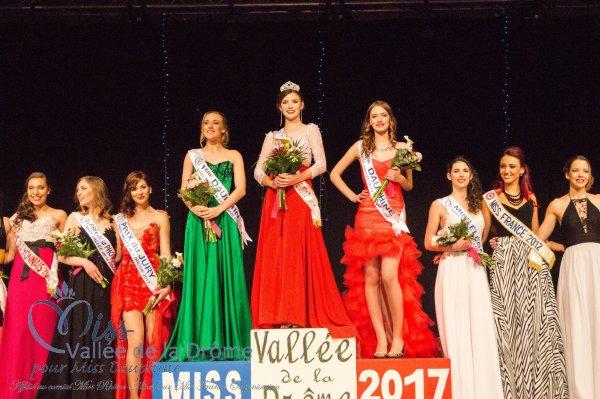 Miss Vallée de la Drôme 2017 est Léa Genthon